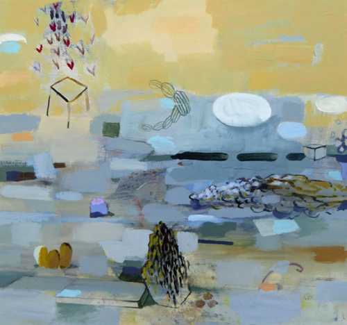 Abstract Landscape Painting By Barbara Moody