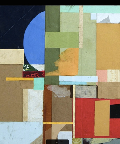 Abstract Geometric Collage By Katie Dougherty