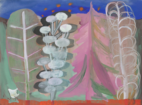 Spring Trees Abstract Landscape By Karen Barbour At 20x200