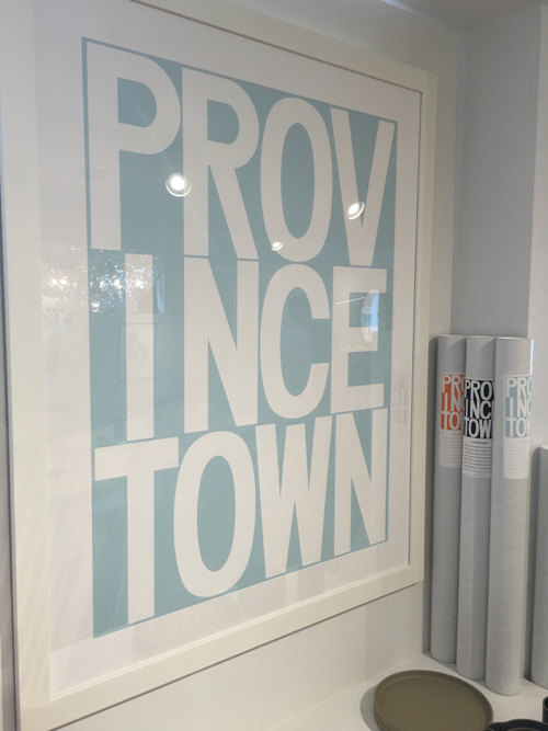 Graphic Provincetown Poster At Room 68
