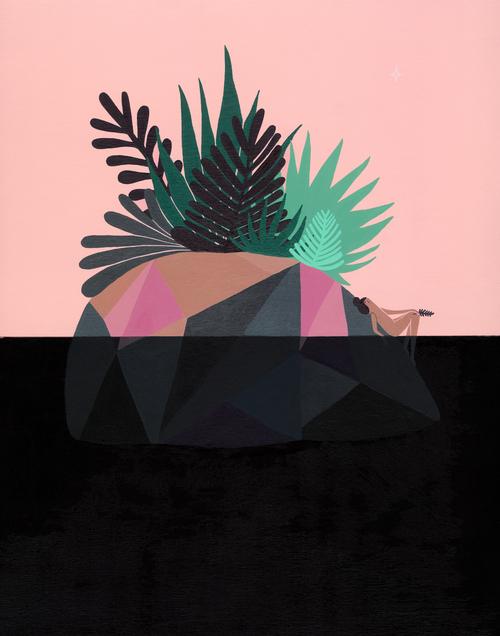 Island Illustration Laura Berger