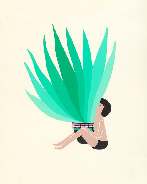 Plant Illustration Laura Berger