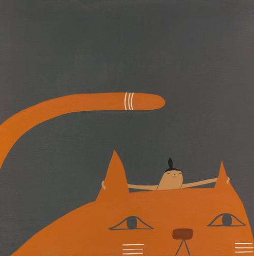 Cat Illustration Laura Berger