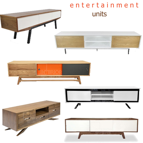 Contemporary Entertainment Media TV Units