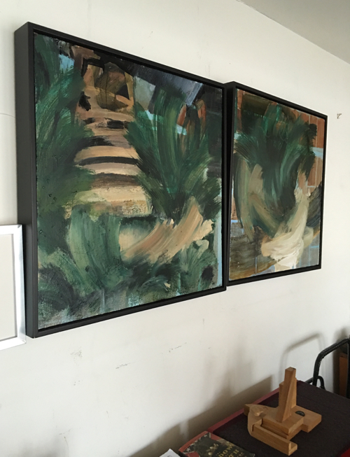 Abstract Paintings By Artist Laura Allis-Richardson