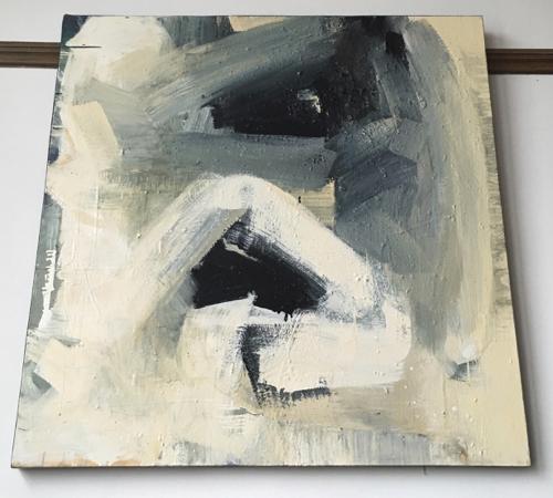 Abstract Painting By Boston Artist Laura Allis-Richardson