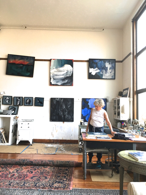 Studio Visit With Boston Artist Laura Allis-Richardson