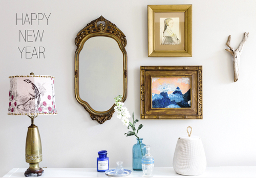Gallery Wall and Console Styling