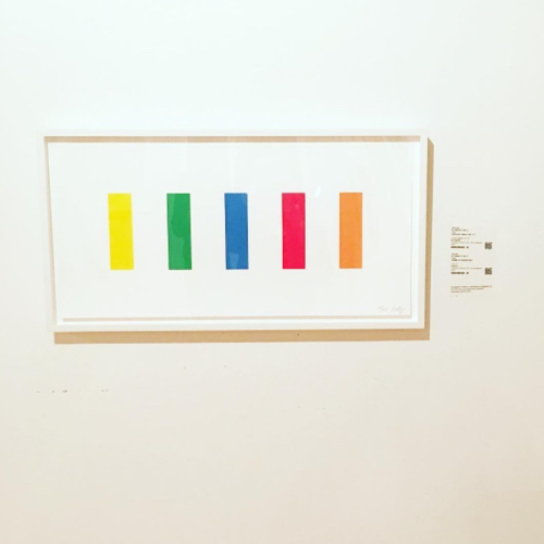 Abstract Art By Ellsworth Kelly At SMFA Sale 2016