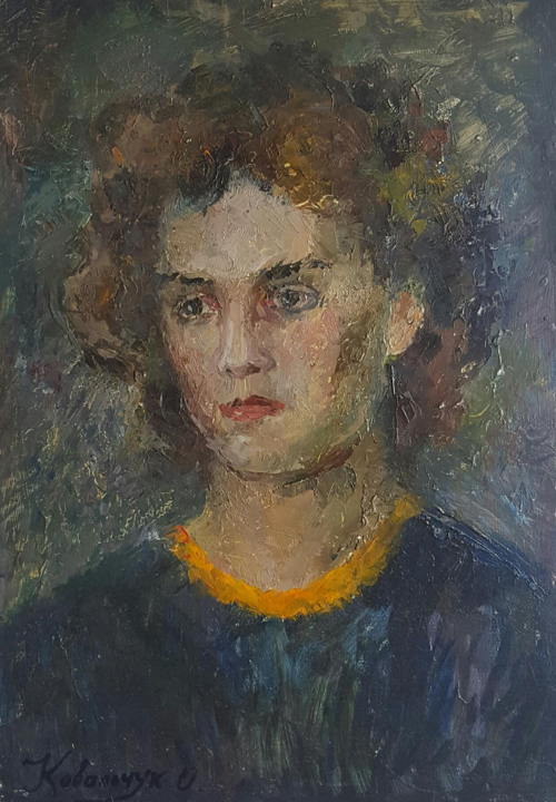 Portrait of a Woman by Kovalchuk O