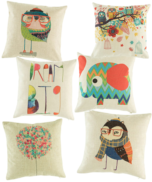 Modern Kids Throw Pillows by Simply Cushions