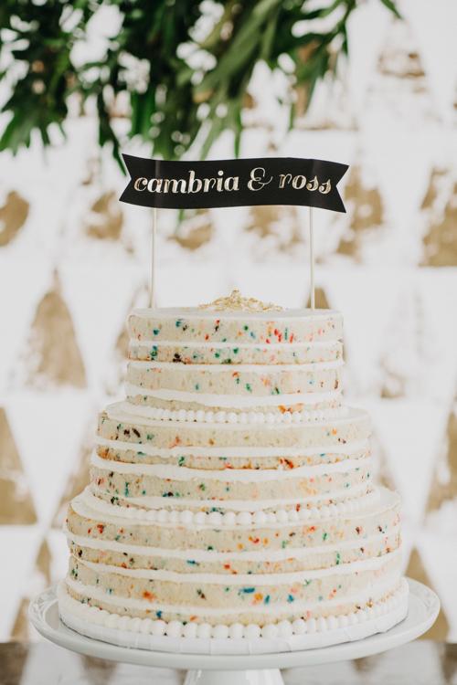 Naked Wedding Cake By Mayflour Confections Boston