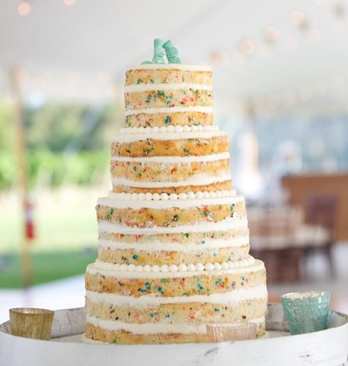 Naked Wedding Cake Morin Catering Boston