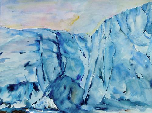Arctic Landscape Paintings By Lisa Goren
