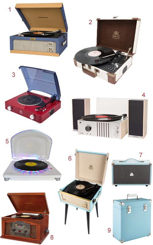 Retro Record Players From Every Era Available At Rockit