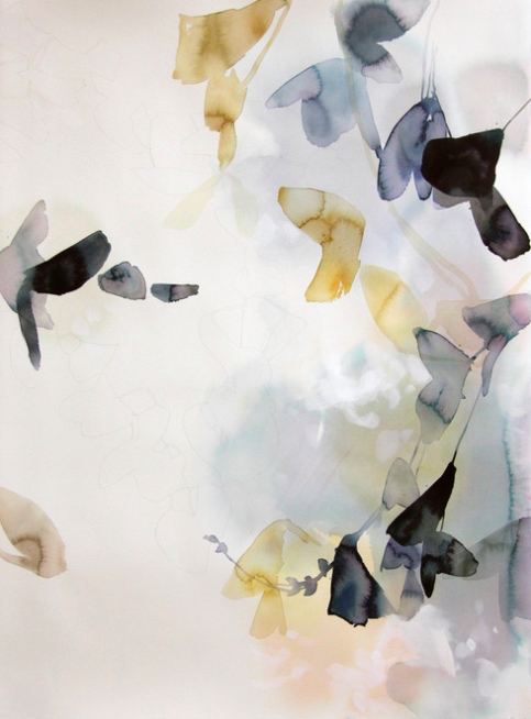 Subtle Abstract Florals By Elise Morrisa