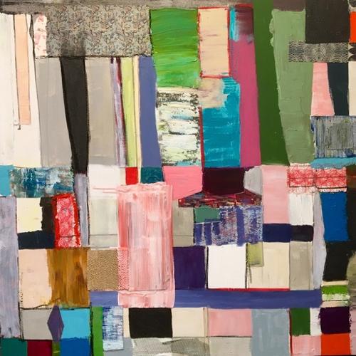 Pathwork Abstract Adrienne Shishko At Mass Art Auction