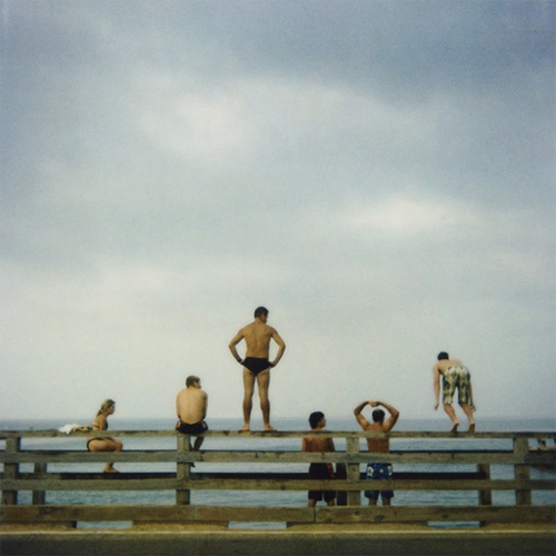 Beach Photo With Figures At Mass Art Auction