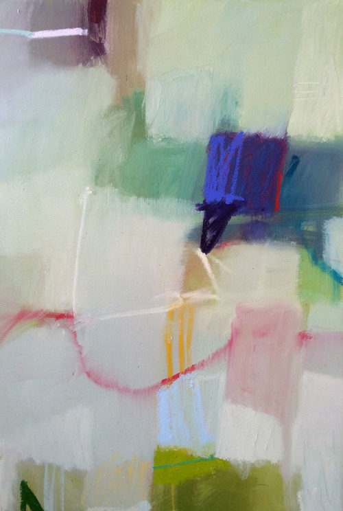 Abstract Geometric Painting By Sharon Paster