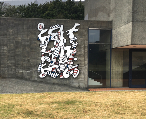 Jean Dubuffet Sculpture In Japan