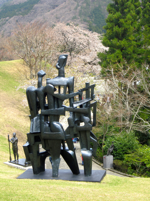 Mid-Century Modern Sculpture At Hakone Open-Air Museum In Japan