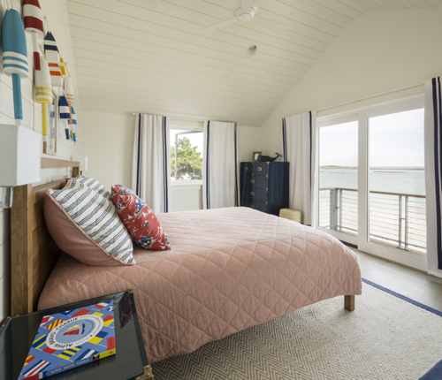 Beach House Boys Room With Ocean View And Lobster Theme