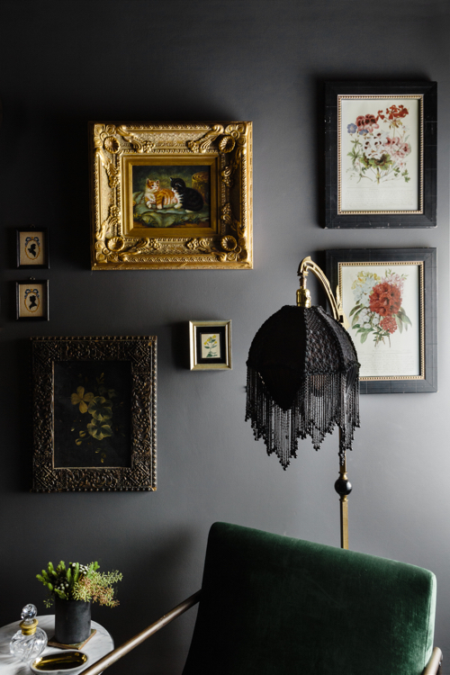 Moody Den by Alina Wolhardt of Wolf In Sheep Design Boston