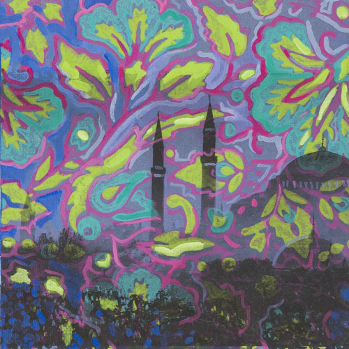 Lee Essex Doyle Travel Paintings Minaret Memories