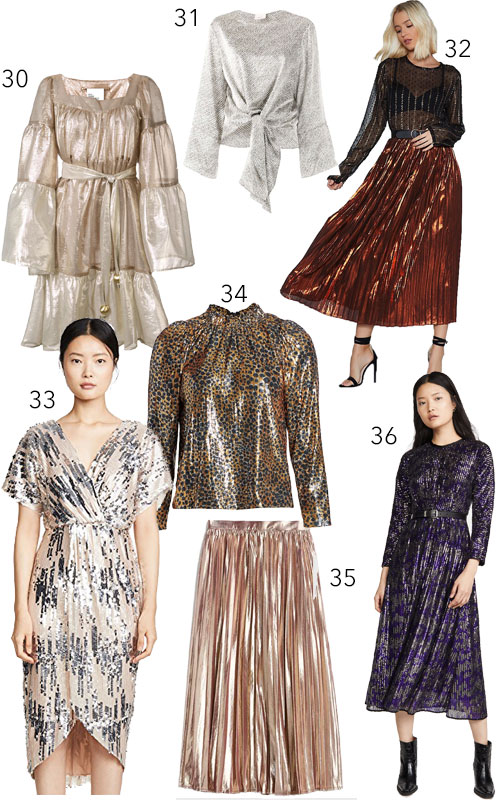 Holiday Party Pieces Dresses Separates Sequins